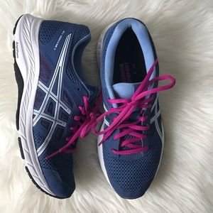 ASICS gel content 5 running Shoes Size 8